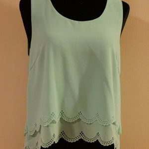 Lime summer top